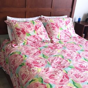 Lilly Pulitzer first impressions duvet cover